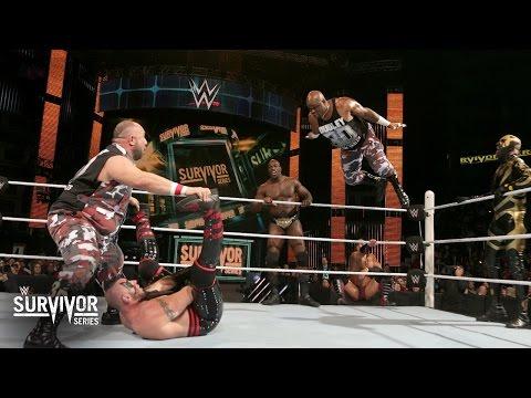 The Dudleyz, Neville, Titus & Goldust vs. Miz, Bo, Stardust & Ascension: Survivor Series Kickoff