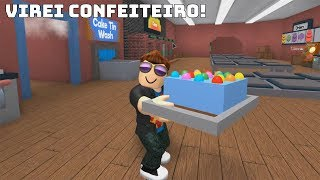 ROBLOX: I TURNED CONFECTIONER MADE THE BEST CAKES IN THE WORLD! (Bakers Valley)