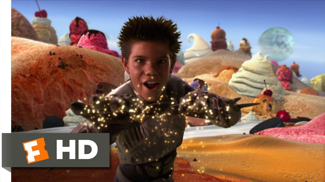 Shark boy and lava girl in 3 d