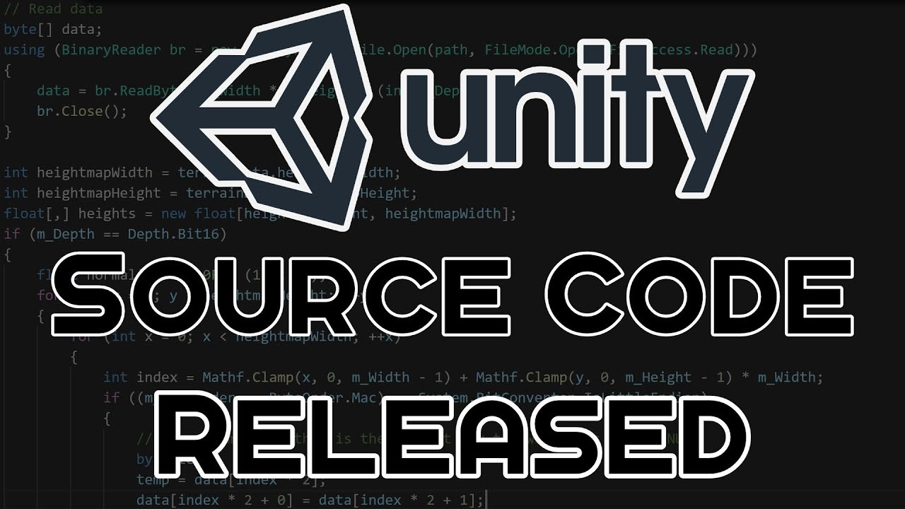 Unity Editor Source Code Released