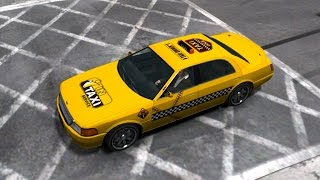 GTA IV - Dundreary Super Deluxe Taxi