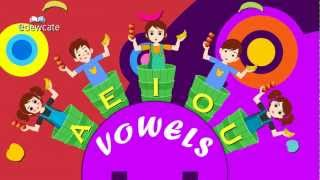 Apples and Bananas Nursery Rhyme Song | Vowel Songs for Children