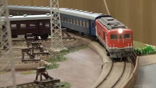 【16番(HO)】DF50牽引普通列車(昭和40年代後半) Japanese local train in 1970's