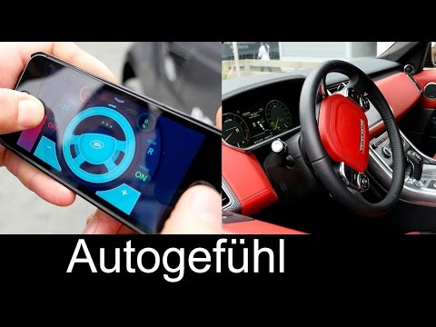 Land Rover Remote Control via iPhone RC Range Rover Sport showcase - Autogefühl
