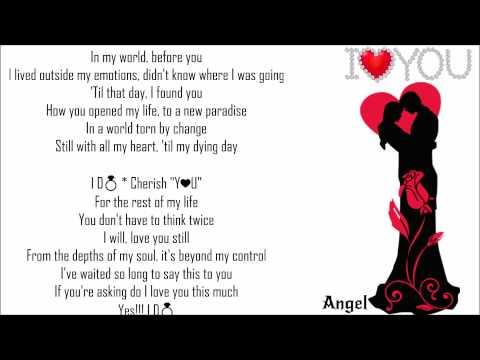 I D💍 ༺💕༻ Cherish You ༺💕༻ Mark Wills mp3