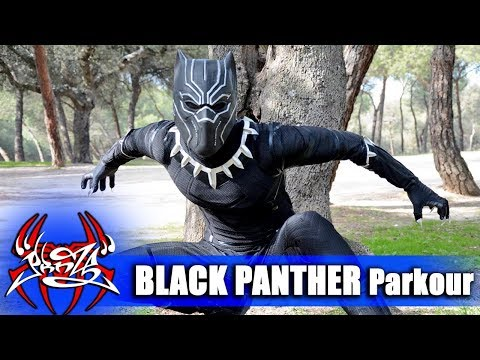 BLACK PANTHER PARKOUR in Real Life!