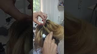 ВЫСОКАЯ СВАДЕБНАЯ ПРИЧЁСКА, КАК СДЕЛАТЬ ПРИЧЕСКУ НА СВАДЬБУ. Обучение причёскам, высокий пучок