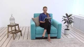 Обзор кресла Жаклин, производства Савлуков-Мебель (г. Витебск, Беларусь) HD