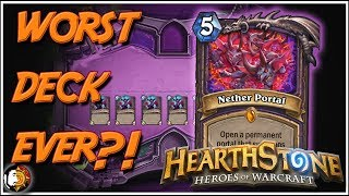 Hearthstone: Worst Best Deck In Game 0% Winrate