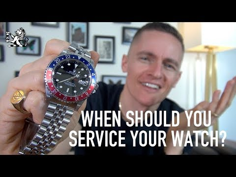 How Often Should You Service Your Watch? What To Look Out For - GIAJ#6
