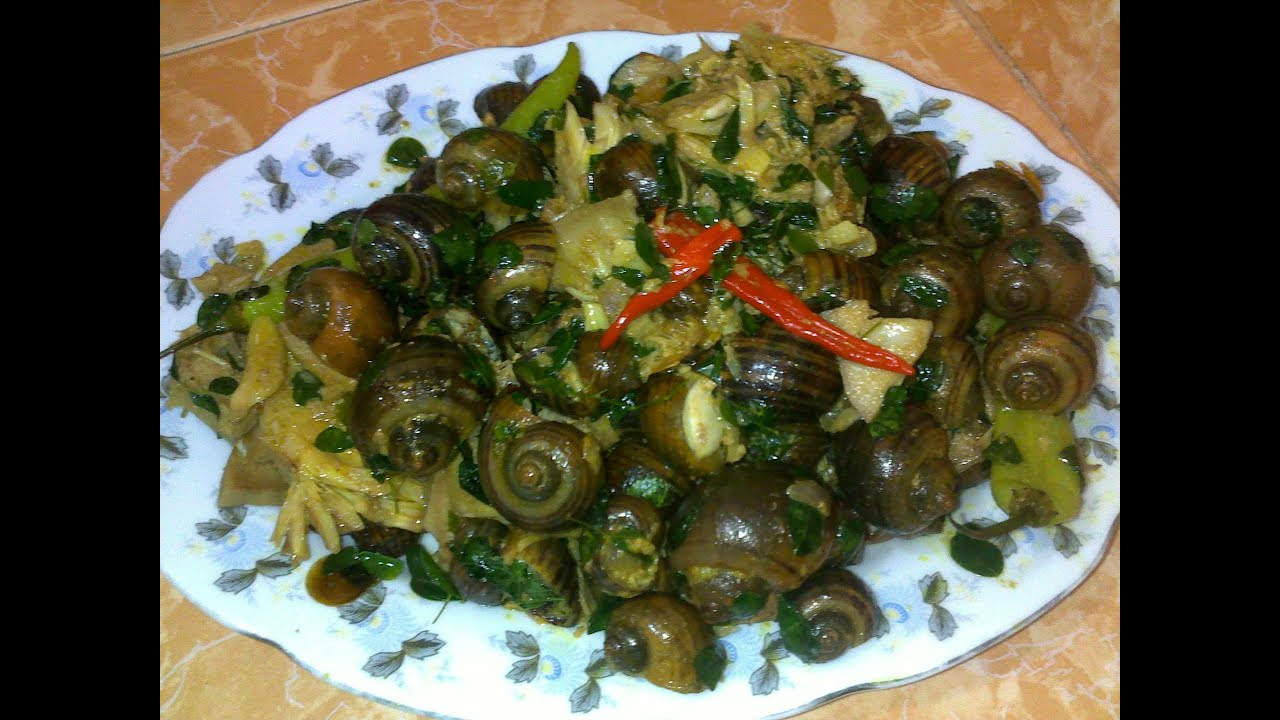 Watch on recipe for escargot