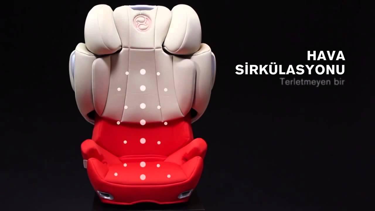 cybex solution q fix 15 36 kg oto koltu u en yi g venli. Black Bedroom Furniture Sets. Home Design Ideas