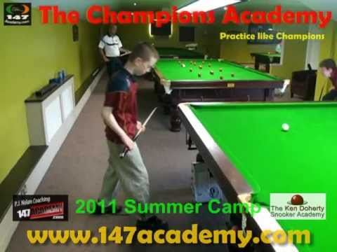 The Ken Doherty Coaching Summer Camp with PJ Nolan