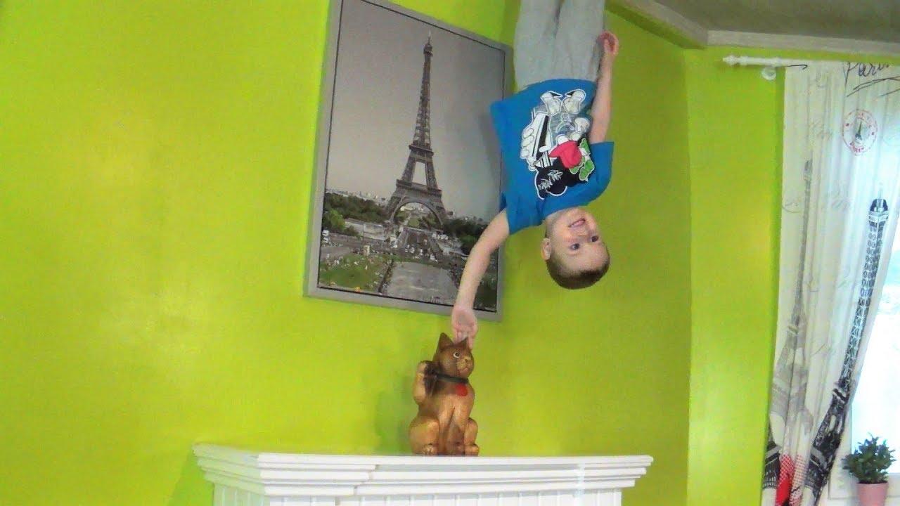 дом вверх дном в Екатеринбурге развлечения для детей