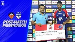 GOA vs BFC - Post-Match Presentation | Hero ISL 2019-20