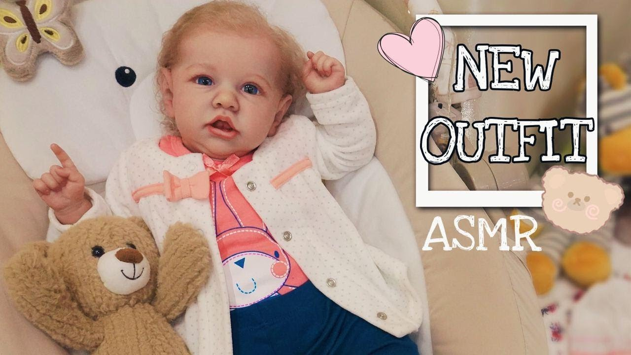 Reborn Saskia New Outfit Changing - Day 2/Oddly Satisfying ASMR /Collector's video