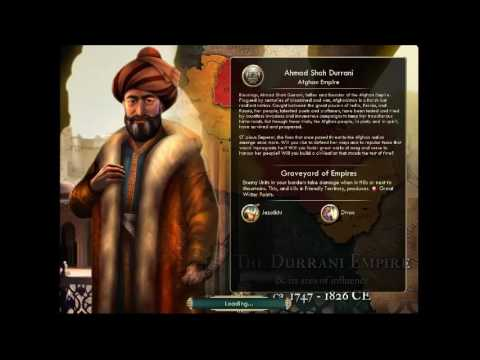 Empire of Afghanistan  - Ahmad Shah Durrani | Peace