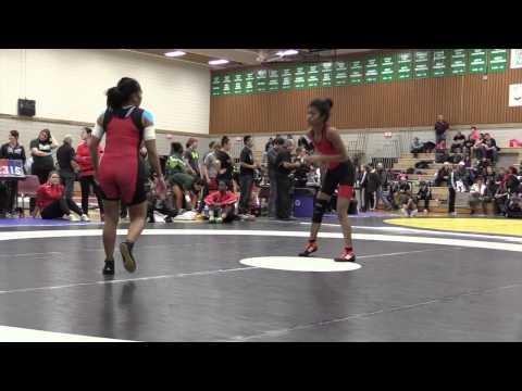 2014 Huskie Open: 44 kg Chichi Anzano vs. Sigora Wolff