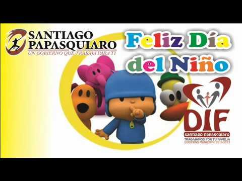 Invitacion Para El Día Del Niño Youtube