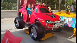 Power Wheels - Ride on the Red Car