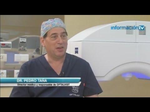 Imagen de Entrevista en Información TV - Intralase, cirugía de miopía - Dr. Pedro Tañá, Oftalvist