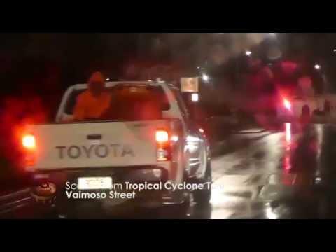 Tropical Cyclone Tuni in Samoa