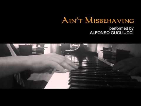 Ain't Misbehavin - jazz piano improvisation