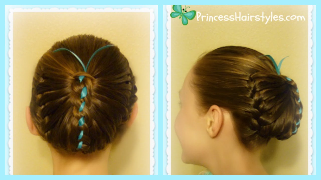 Hair Styles For Spring: Butterfly Hairstyle, Cute Spring Hairstyles