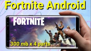 Fortnite Android Highly Compressed Download || By Crazy Indian Gamer !!!