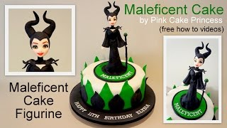 Halloween Maleficent Cake How to by Pink Cake Princess