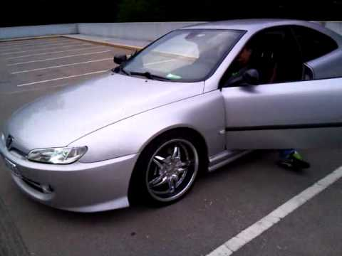 peugeot 406 coupe v6 on bonetti wheels youtube. Black Bedroom Furniture Sets. Home Design Ideas