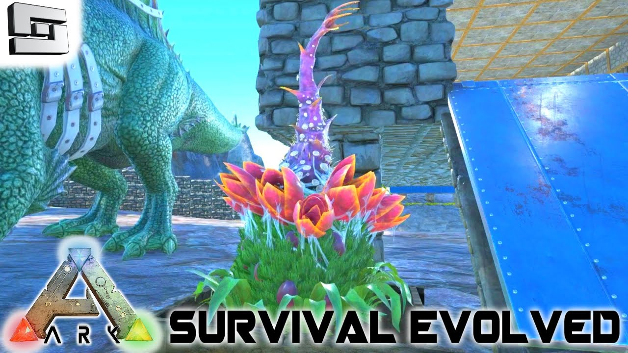 Ark survival evolved plant species x turret e76 for Plante x ark
