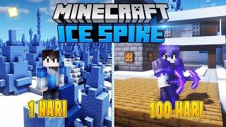 100 Hari di Minecraft tapi Ice Spike Only !!!