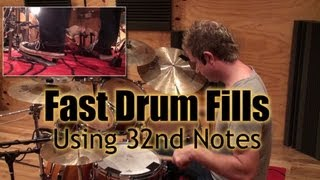 Fast 32nd Note Fills Using The Paradiddle And Bass Drum