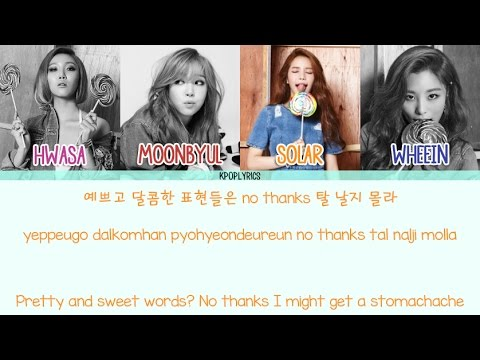 Free download Mp3 lagu Mamamoo - Girl Crush [Eng/Rom/Han] Picture + Color Coded HD