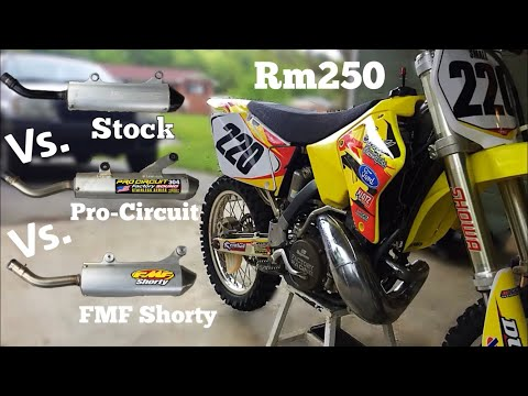 Which 2 Stroke Pipe Sounds The Best?? - Sound Test