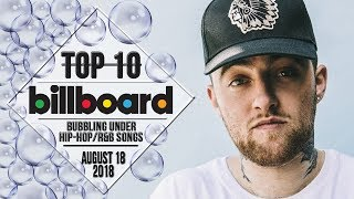 Top 10 • US Bubbling Under Hip-Hop/R&B Songs • August 18, 2018 | Billboard-Charts