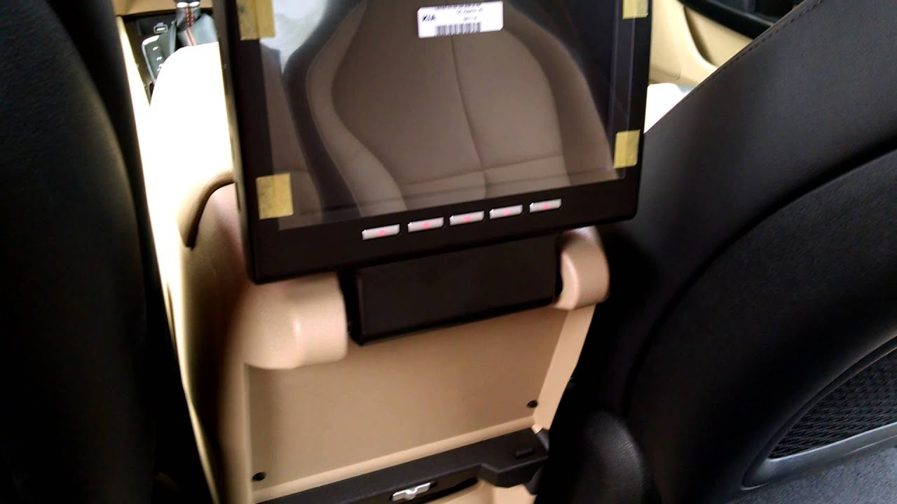 2015 Kia Sedona Sx Rear Seat Entertainment Package Youtube