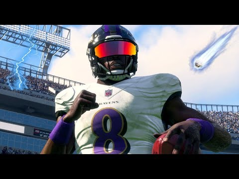 LAMAR IS THE MOST ELECTRIFYING PLAYER IN THE NFL! - MADDEN 18 LAMAR JACKSON CAREER MODE