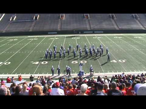 2012 Region 2 UIL Marching Band Contest - Class 1A - Knox City High School