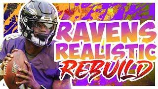 Rebuilding The Baltimore Ravens - Madden 20 Realistic Rebuild
