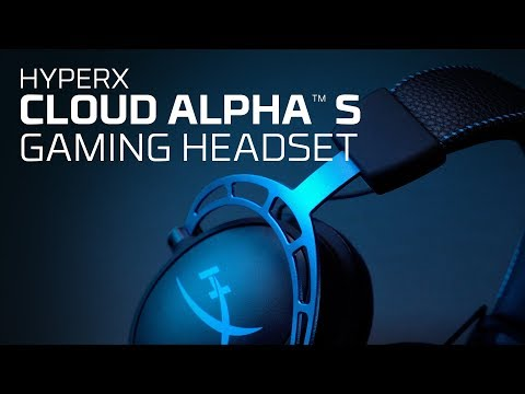 Cloud Alpha S – HyperX Gaming Headset for PC