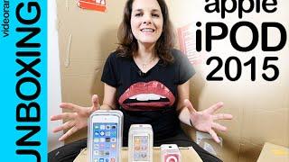 Apple iPod touch, nano, shuffle 2015 unboxing en español