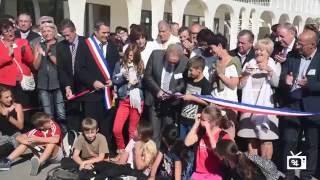 inauguration collège de Riez