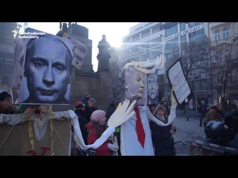 Activists In Tbilisi, Pristina, And Prague Join Global Marches