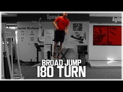 How To Jump Higher With More Power - Hit Vertical and Broad Jump PR's (Broad Jump 180 Turn)