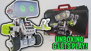 UNBOXING & LETS PLAY – Meccano M.A.X. – Robotic Interactive Toy with Artificial Intelligence