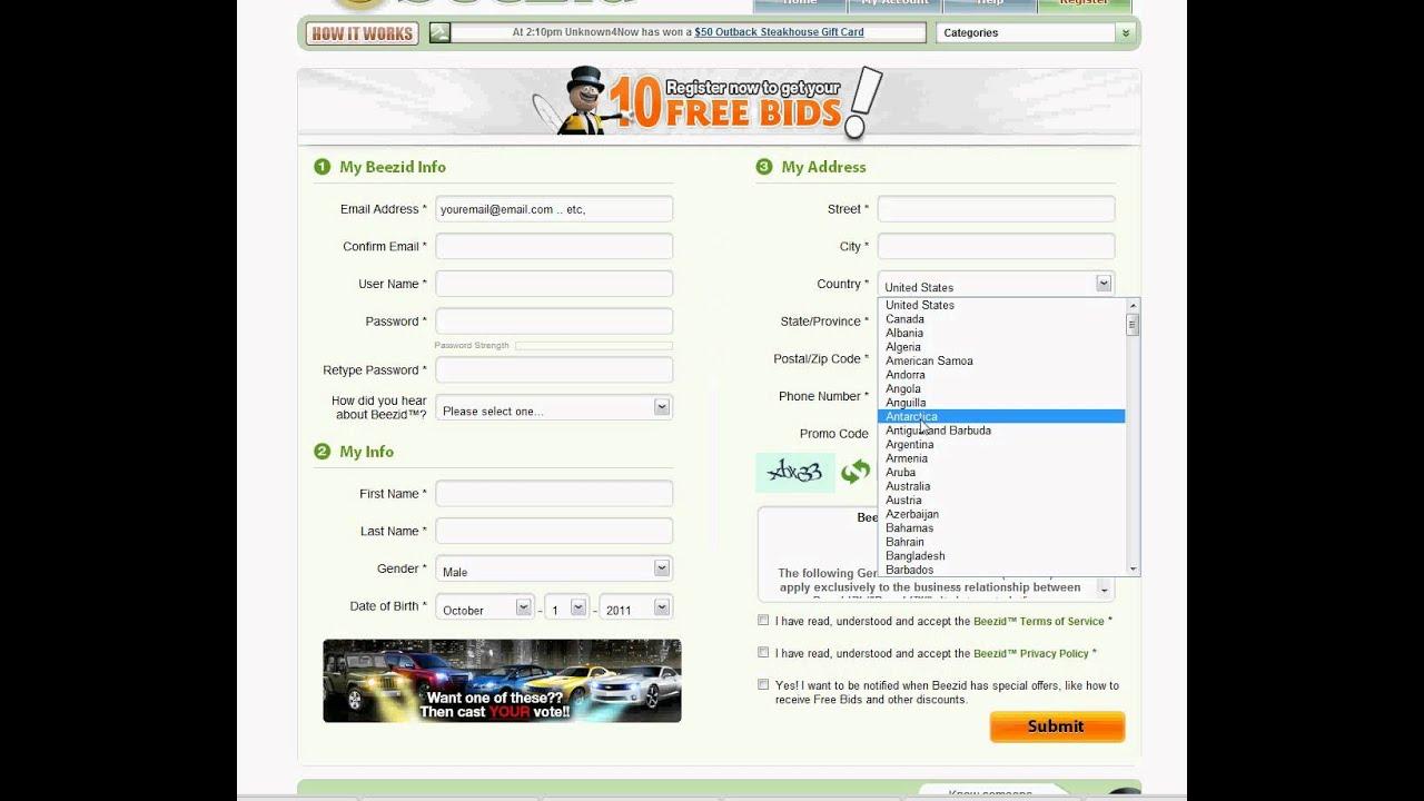 Beezid signup bonus code tchoukball games online