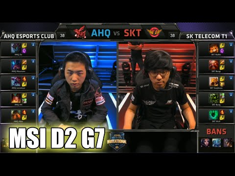 ahq e-Sports Club vs SK Telecom T1 | MSI Group Stage Day 2 Mid Season  Invitational 2015 | AHQ vs SKT