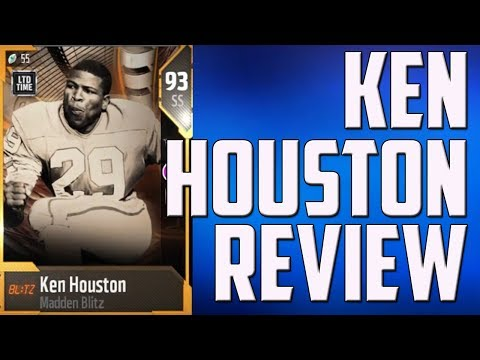 How Good is 93 Ken Houston? MUT 18 Player Review